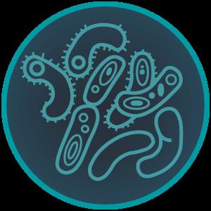 Antimic Dezenfektan Bakteri İkon